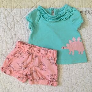just one you made by Carter's two piece outfit